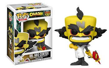 Funko Crash bandicoot Pop Neo Cortex