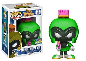 Duck Dodgers Marvin The Martian Neon Lime Funko SDCC