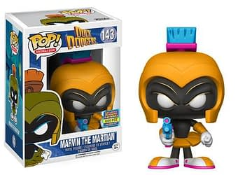 Duck Dodgers Marvin the Martian Neon Orange Funko Pop