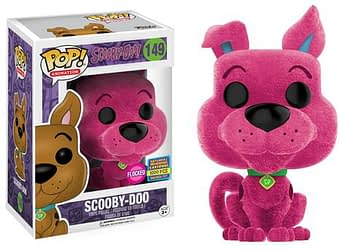 SDCC Funko Scooby Doo Flocked Magenta
