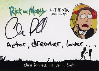 Rick and Morty Season 1 Trading Cards Auto 1