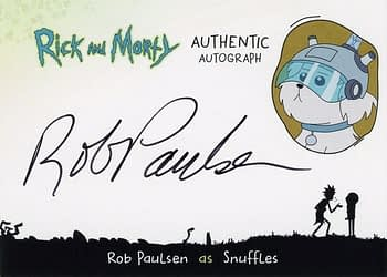 Rick and Morty Season 1 Trading Cards Auto 2