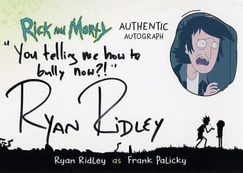 Rick and Morty Season 1 Trading Cards Auto 3
