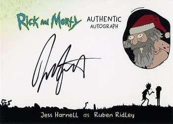 Rick and Morty Season 1 Trading Cards Auto 5