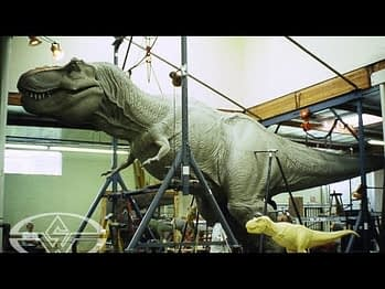 Video: How Jurassic Park's Life Size T-Rex Was Built By Stan Winston Studios