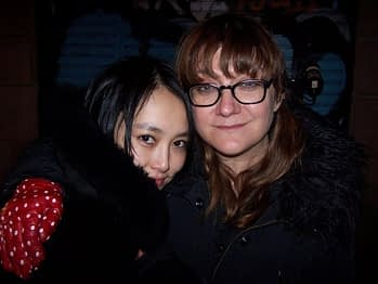 Rinko Kikuchi and Isabel Coixet
