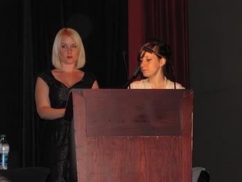Hope Nicholson and Rachel Richey 2