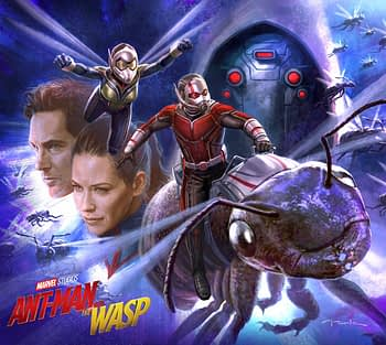 Andy Park Shares New Ant Man And The Wasp Art
