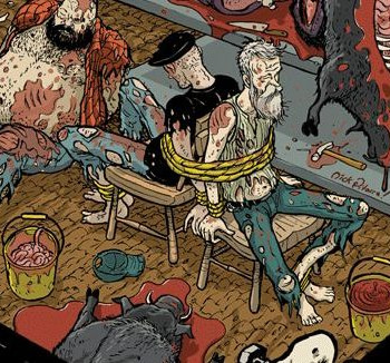 Redneck #9 cover by Nick Pitarra