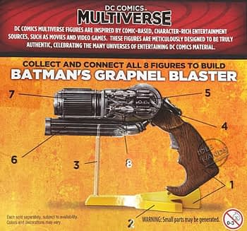 Mattel Batman v Superman Dawn of Justice Multiverse 6 inch Figures Build a Grapnel Blaster