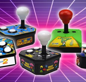 Funstock Retro plug-and-play arcade games