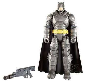 Mattel Batman v Superman Dawn of Justice Battle Armor Batman 6 inch Figure