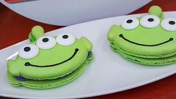 toy story alien macarons pixar fest