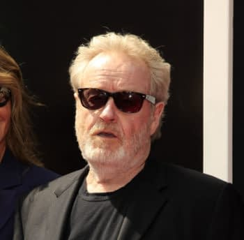 LOS ANGELES - MAY 17: Ridley Scott at the Ridley Scott Hand and Foot Print Ceremony at the TCL Chinese Theater on May 17, 2017 in Los Angeles, CA