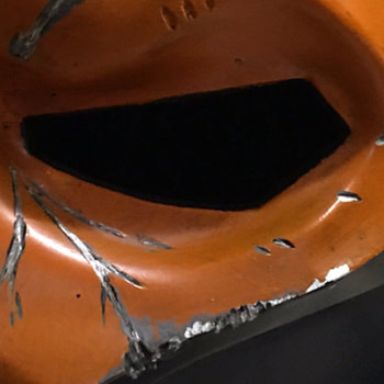 Deathstroke Mask posted on twitter by Joe Manganiello