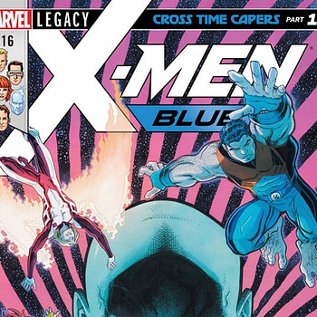 X-Men: Blue #16 cover by Arthur Adams and Ian Herring