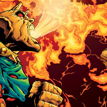 The Demon: Hell is Earth #2 Review cover by Brad Walker, Andrew Hennessy, and Chris Sotomayor