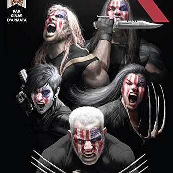 Weapon X #12 cover by Rahzzah