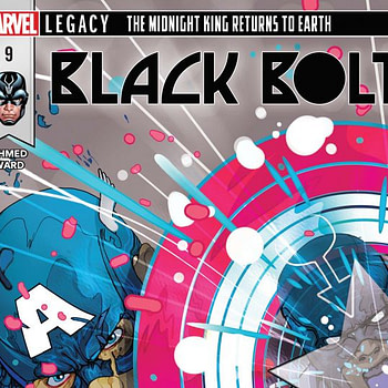 Black Bolt #9 cover by Christian Ward