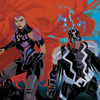 Inhumans: Judgment Day #1 cover by Daniel Acuna