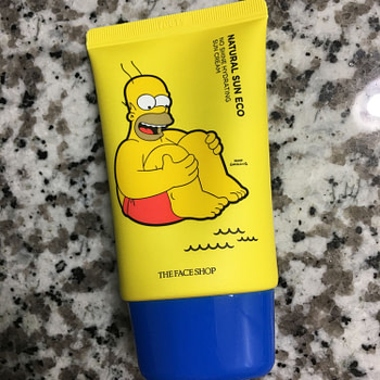 simpsons sunblock
