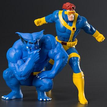 X-men Cyclops and Beast Kotobukiya Statue 1