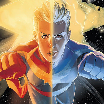 Captain Marvel #129 cover by Phil Noto