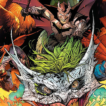 comics - Dark Nights: Metal #6 cover by Greg Capullo, Jonathan Glapion, and FCO Plascencia