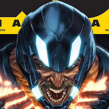 X-O Manowar #12 cover by Lewis Larosa and Diego Rodriguez