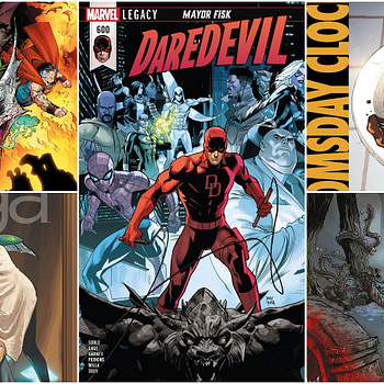 Comics for Your Pull Box, Week of 03/28/18