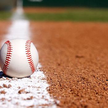 Baseball on Chalk Line -- David Lee/Shutterstock.com