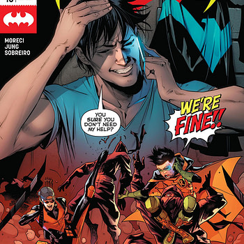Nightwing #43 cover by Jorge Jimenez and Alejandro Sanchez