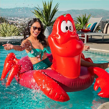little mermaid pool accessories