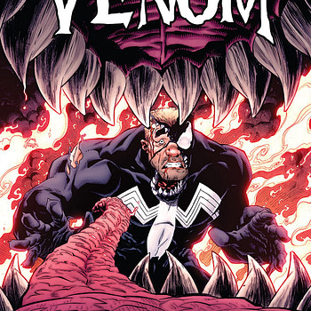 Venom #165 cover by Ryan Stegman and Morry Hollowell