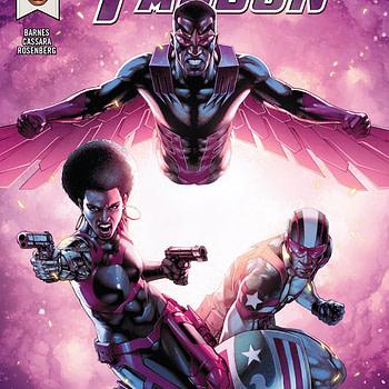 Falcon #8 cover by Jay Anacleto and Romulo Fajardo Jr.