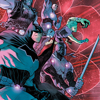 Justice League: No Justice #2 cover by Francis Manapul