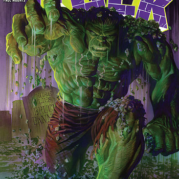 The Immortal Hulk #1 cover by Alex Ross