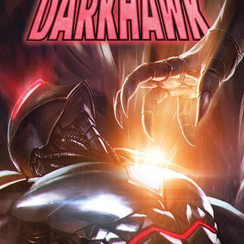 Infinity Countdown: Darkhawk #2 cover by Skan