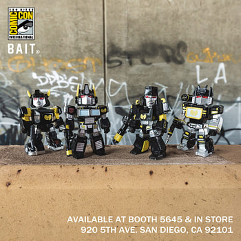 Bait Wu Tang Clan Transformers Figures SDCC Exclusive