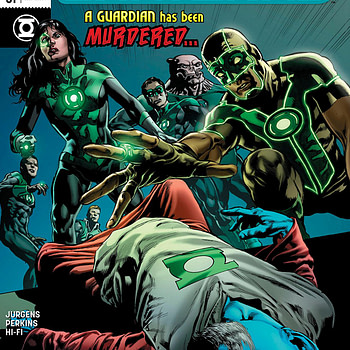 Green Lanterns #51 cover by Mike Perkins and Wil Quintana