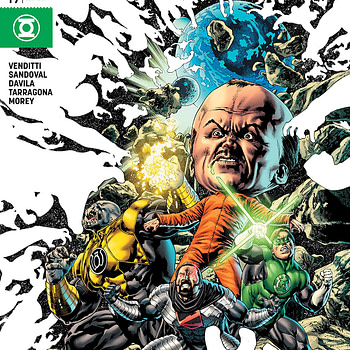 Hal Jordan and the Green Lantern Corps #49 cover by Fernando Pasarin, Eber Ferreira, and Jason Wright