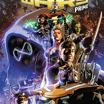 Infinity Wars Prime #1 cover by Mike Deodato Jr. and Frank Martin