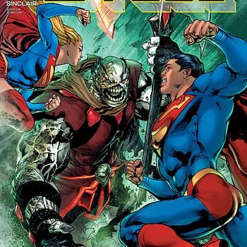 Man of Steel #6 cover by Ivan Reis, Joe Prado, and Alex Sinclair