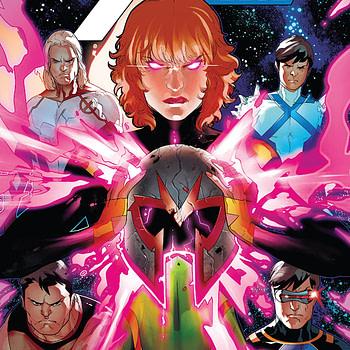 X-Men Blue #32 cover by R.B. Silva and Rain Beredo