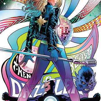 Astonishing X-Men #14 cover by Greg Land and Frank D'Armata