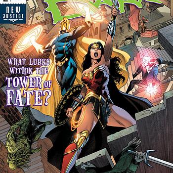 Justice League Dark #2 cover by Alvaro Martinez Bueno, Raul Fernandez, and Brad Anderson