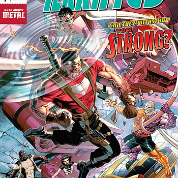 Terrifics #7 cover by Dale Eaglesham and Ivan Nunes