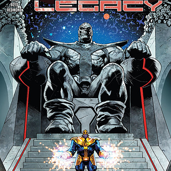 Thanos Legacy #1 cover by Geoff Shaw and Antonio Fabela