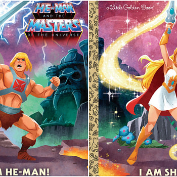 MOTU and She-Ra Golden Books Collage