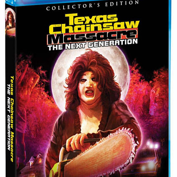 Scream Factory Texas Chainsaw Massacre Next Generation Cover